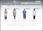 Website Internet Design for Galil Medical
